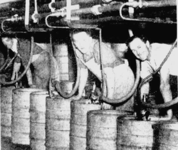 beer strike melbourne 1952