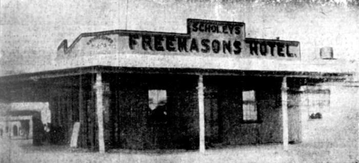 Freemasons Hotel Norseman WA 1934