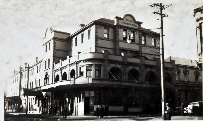 Great Northern Hotel Newcastle 1920s anu