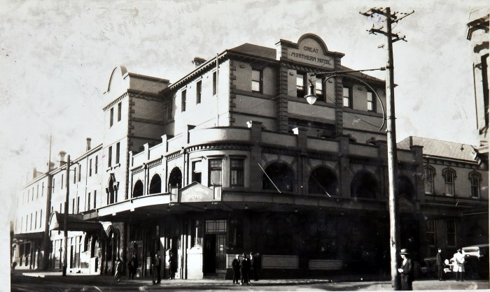 Great Northern Hotel Newcastle 1920s anu