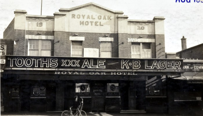 Royal Oak Hotel Lidcombe 1938 anu