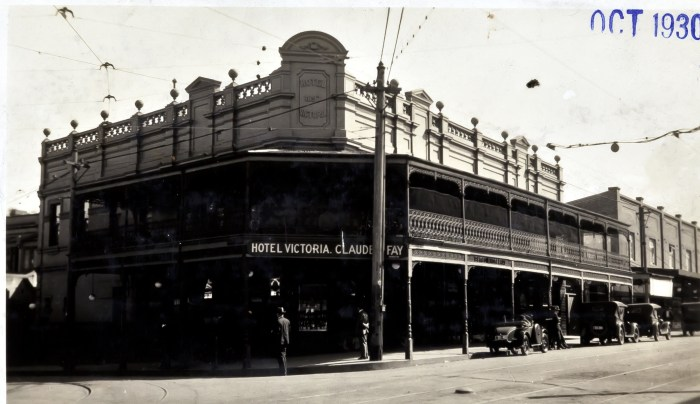 Victoria Hotel Marrickville NSW Oct 1930 anu