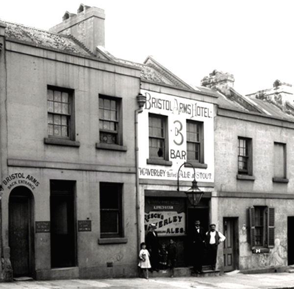 Bristol Arms, Sussex Street, Sydney