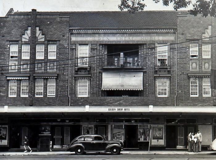 Golden Sheaf Hotel Double Bay Sydney 1949 ANU