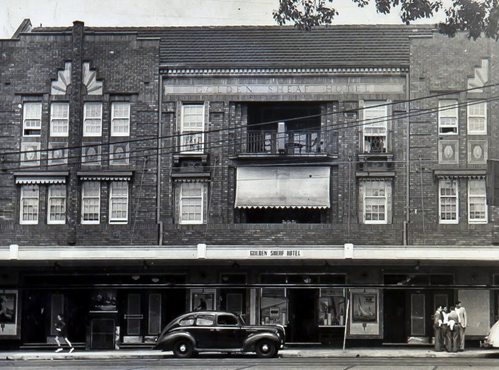 Golden Sheaf Hotel Double Bay Sydney 1949 ANU