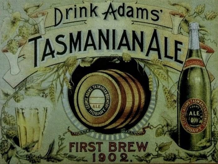 Adams Tasmanian Ale