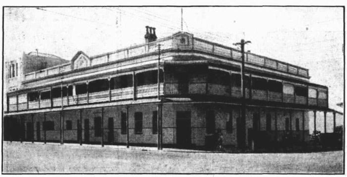 Court Hotel Perth 1938 B