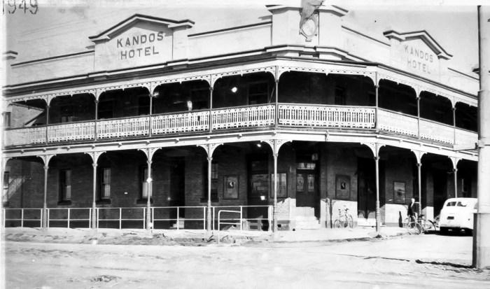 Kandos Hotel Kandos NSW 1949 ANU