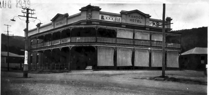 Kandos Hotel Kandos NSW 1959 ANU