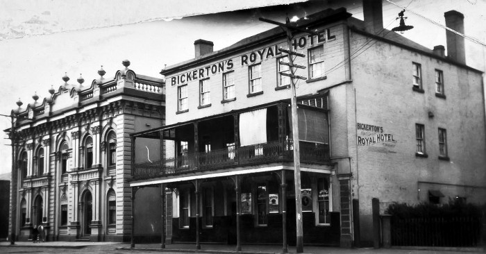 Royal Hotel West Maitland NSW 1924 ANU