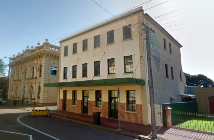 former royal hotel maitland google
