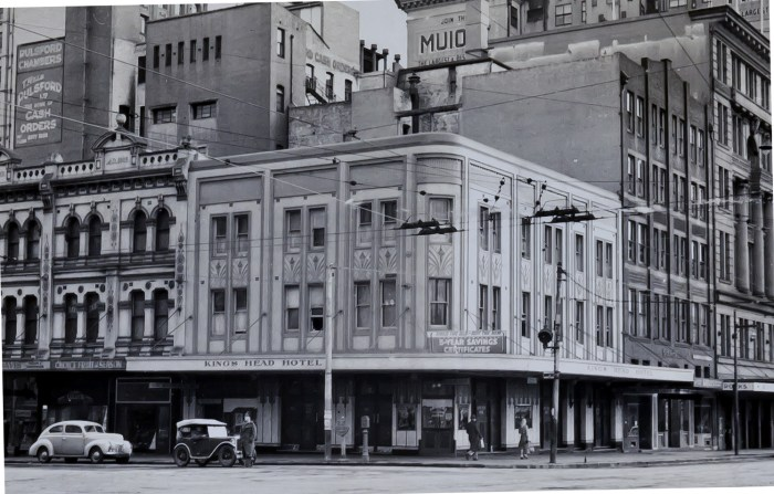 Kings Head Hotel Sydney 1949 ANU