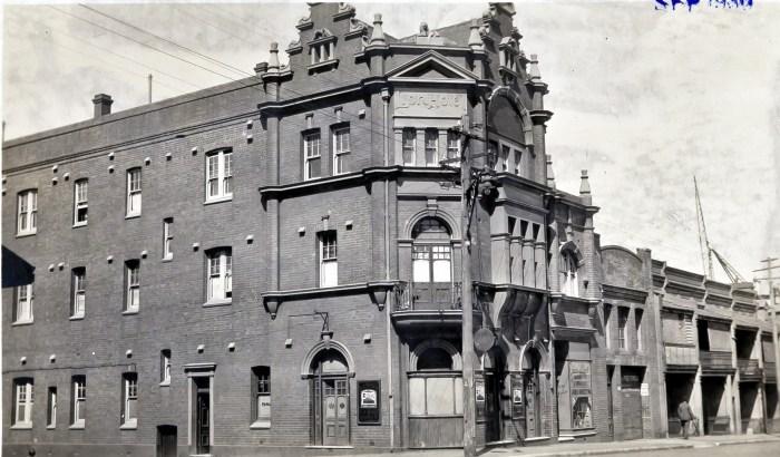 Lion Hotel Sydney 1930