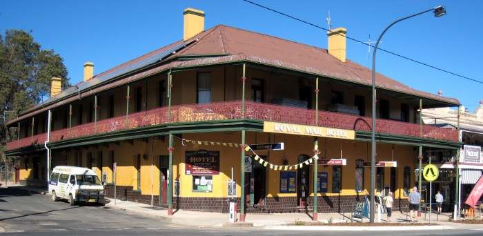 Royal Mail Hotel Braidwood 2019 TG 1