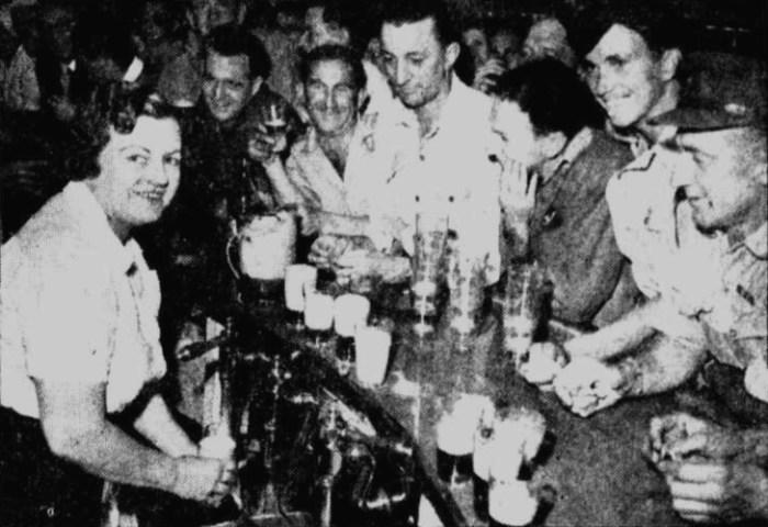 astra hotel bondi bar 1945