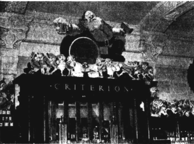 criterion hotel brisbane xmas decoration 1935