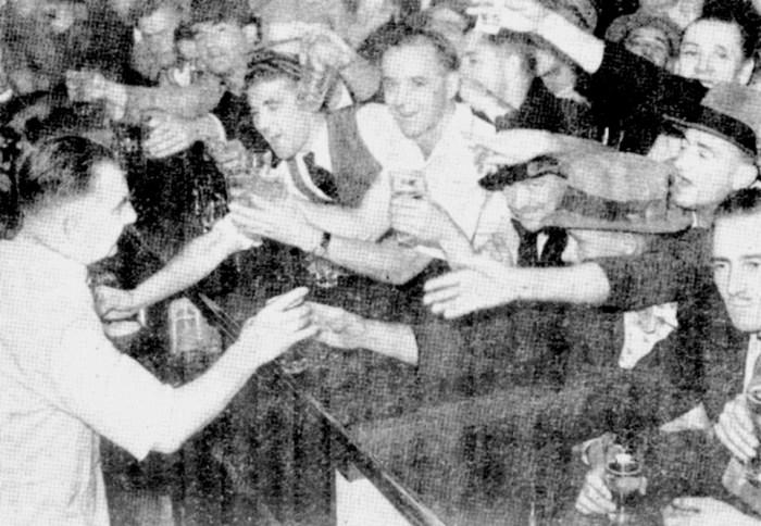 sydney six oclock swill 1947