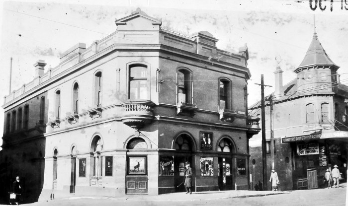 Albury Hotel Paddington 1930 ANU