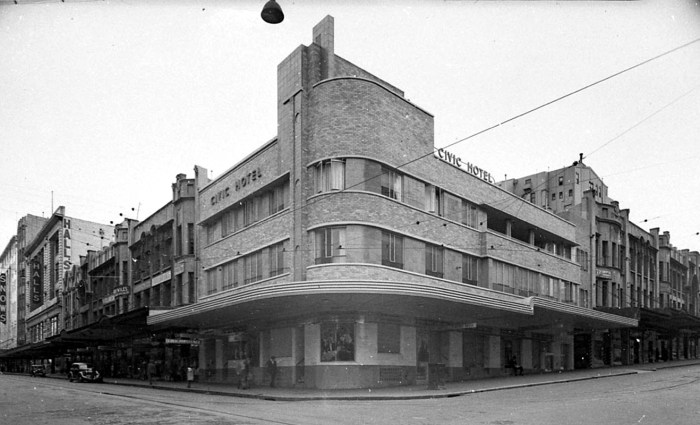 Civic Hotel 1941 State Library of NSW