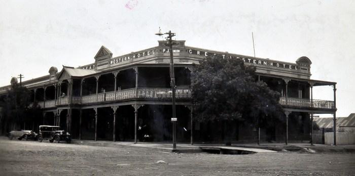 Great Western Hotel Cobar NSW Dec 1929 ANU