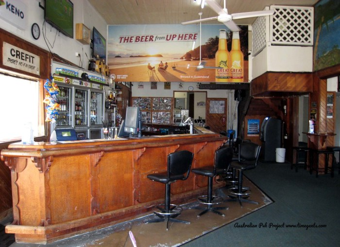 Cooktown Hotel Cooktown Qld bar TG W