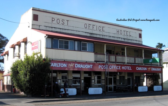 Post Office Hotel Mossman Qld TG W 2