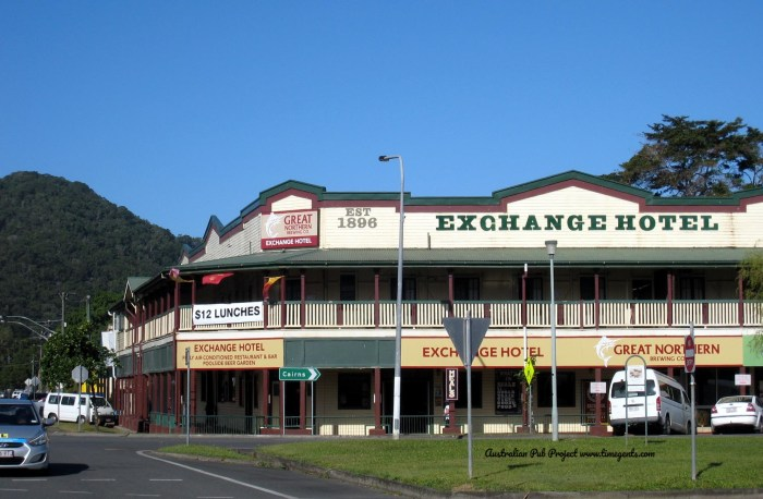 exchange hotel mossman qld TG W 3