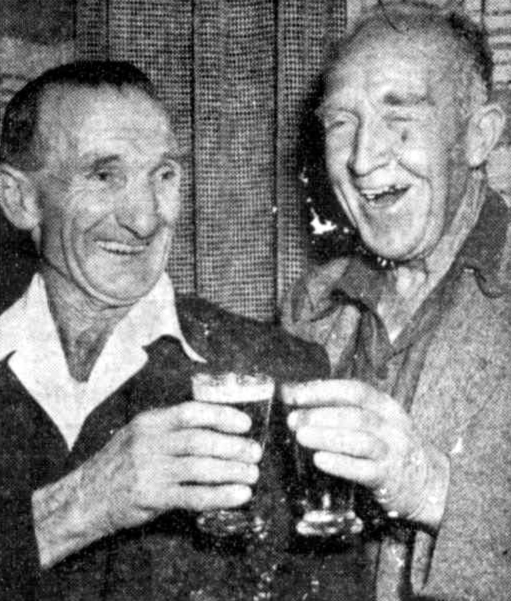 Fred Lucas and Bill Harvey 1954
