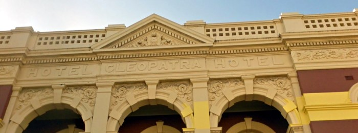 Cleopatra Hotel Fremantle facade google copy