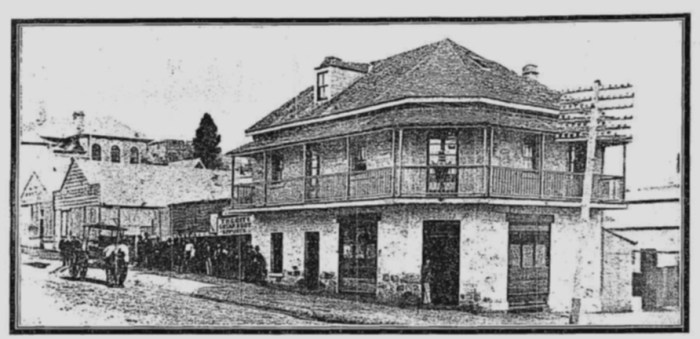 Dunmore Arms Brisbane C1875