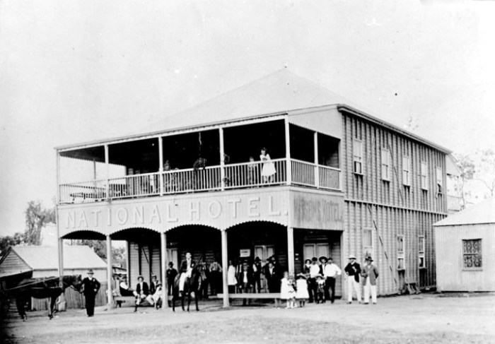 National Hotel Mount Molloy Qld 1908 State Library of Qld