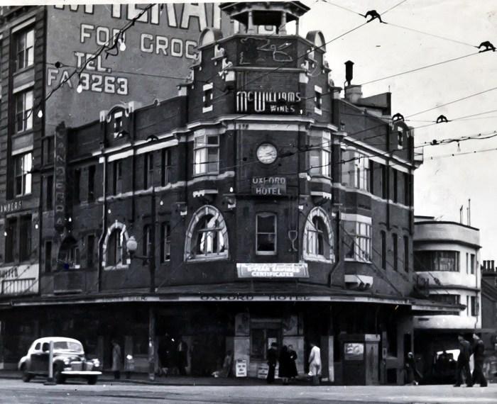 Oxford Hotel Darlinghurst 1949 ANU