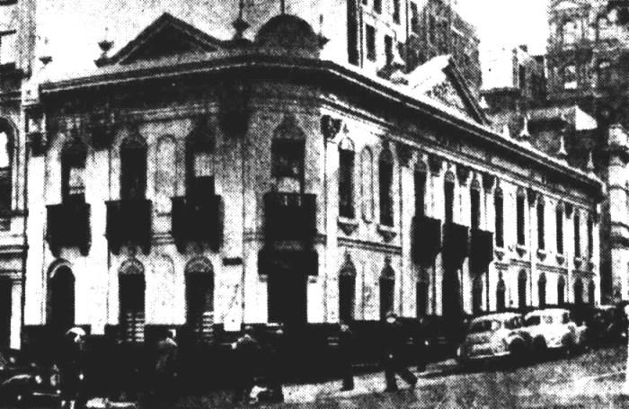 Temple Court Hotel Melbourne 1954