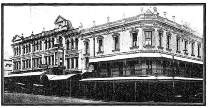 treasury hotel brisbane 1907