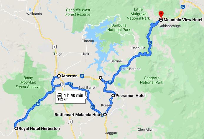 yungaburra map 2