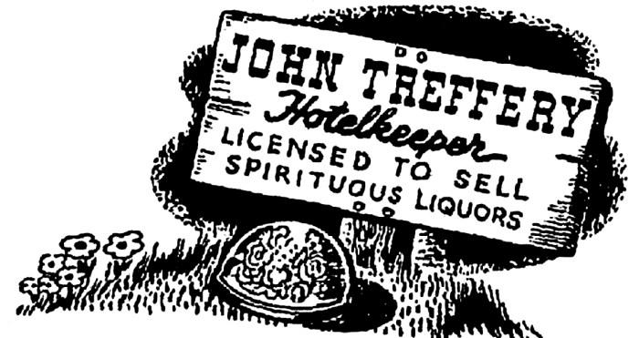 John TReffery sign post