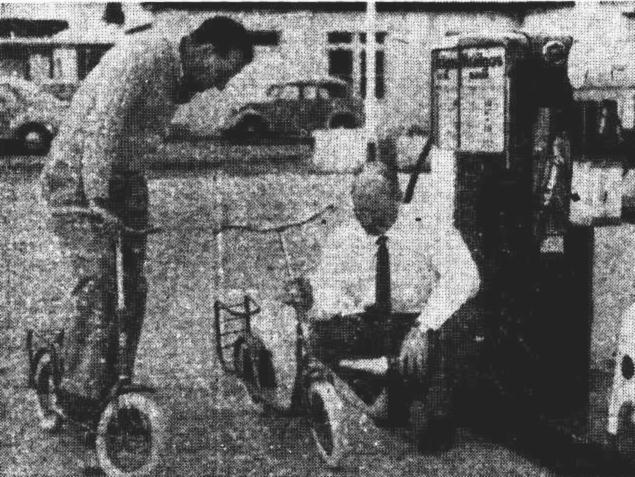 publicans purse scooter race