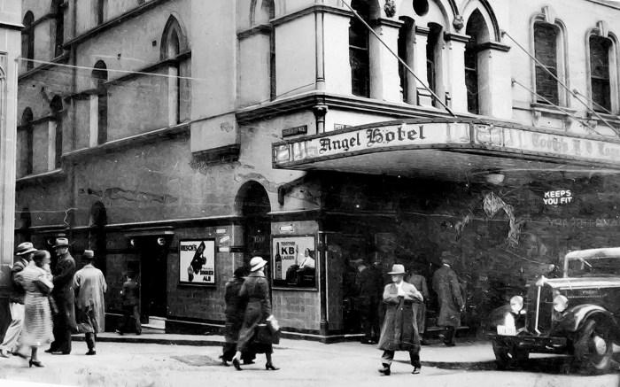 Angel Hotel Sydney 1936 straighetened anu