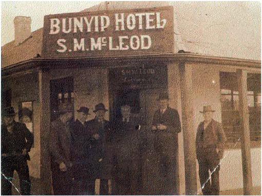 Bunyip Hotel Cavendish 1935