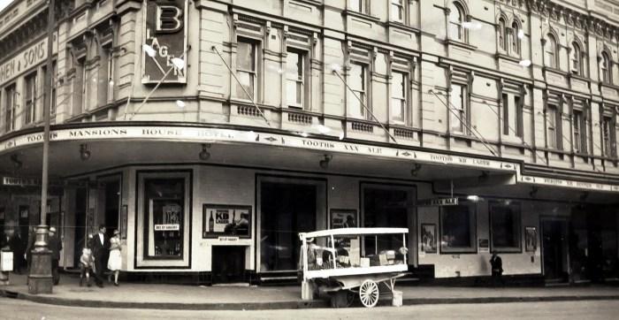 Mansions House Hotel Mountbatten Hotel Haymarket 1936 ANU
