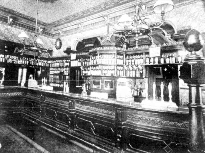Royal Mail Hotel Melbourne Public Bar Melbourne Punch July 12 1900