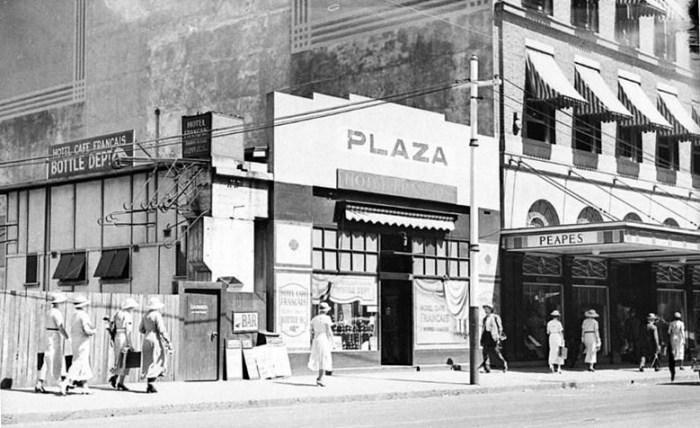 plaza hotel temporary bar 1935