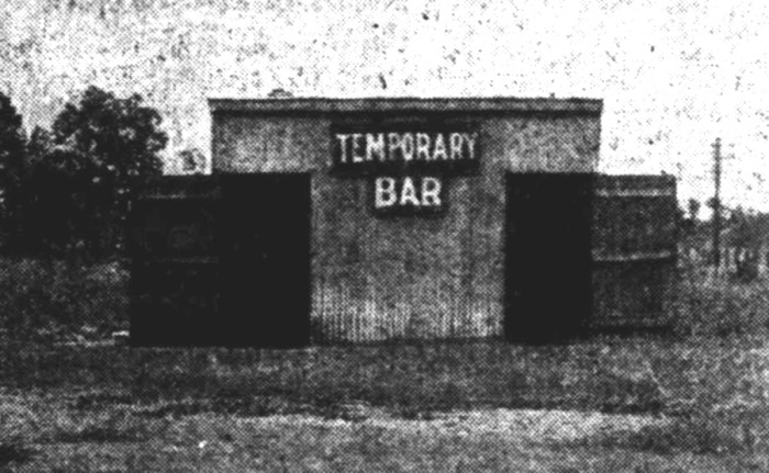 temporary bar kingaroy 1934