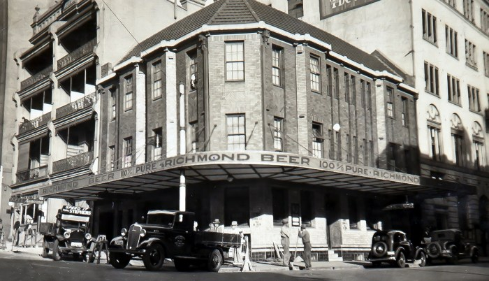 Assembly Hotel Sydney 1937 NBA ANU