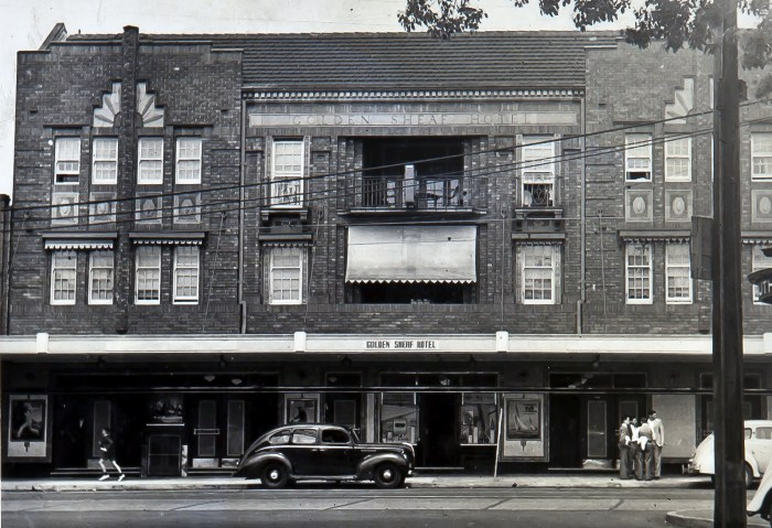 Golden Sheaf Hotel Double Bay 1949 ANU