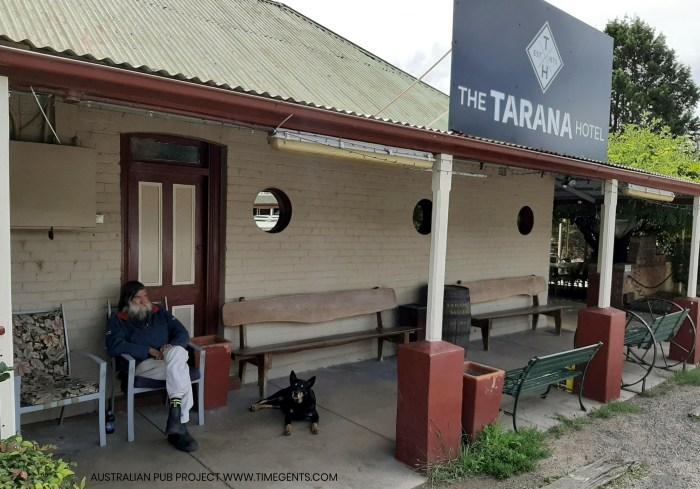 Tarana Hotel Tarana NSW man TG W