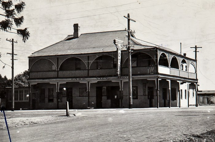 Waggon Wheels Hotel St Marys NSW 1949 NBA ANU