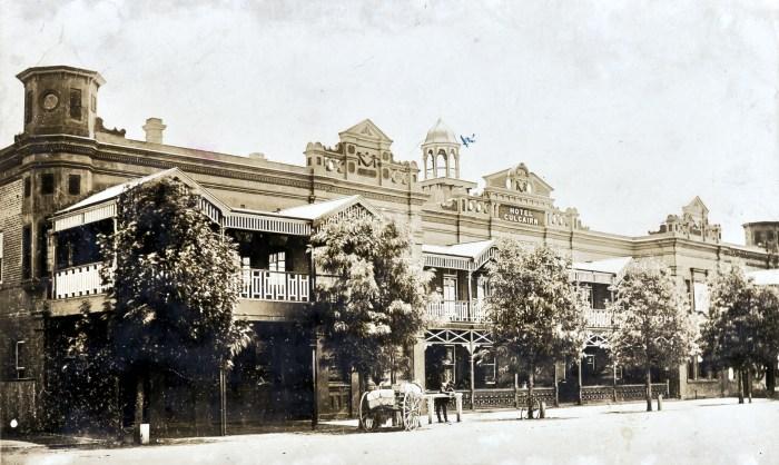 Culcairn Hotel Culcairn 1924 ANU NBA