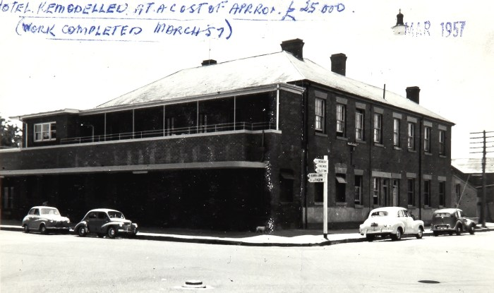 Royal Hotel Richmond NSW 1957 NBA ANU