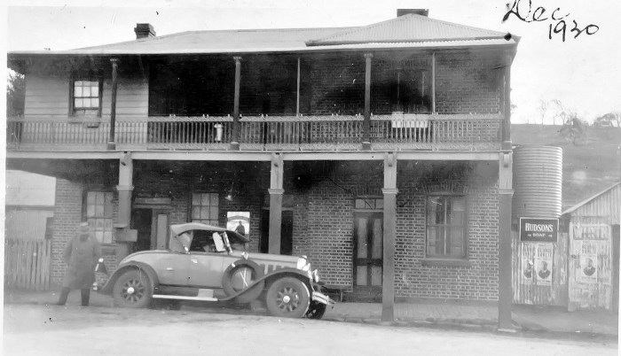 Stoke Hotel Carcoar NSW DEcember 1930 NBA ANU